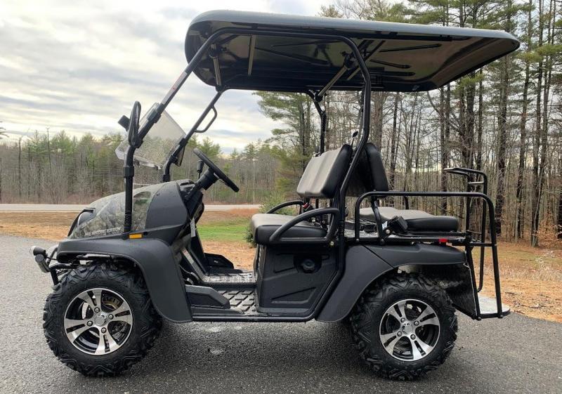 Trailmaster Taurus 200GX 25 MPH GAS 4 passenger golf car style UTV CAMO