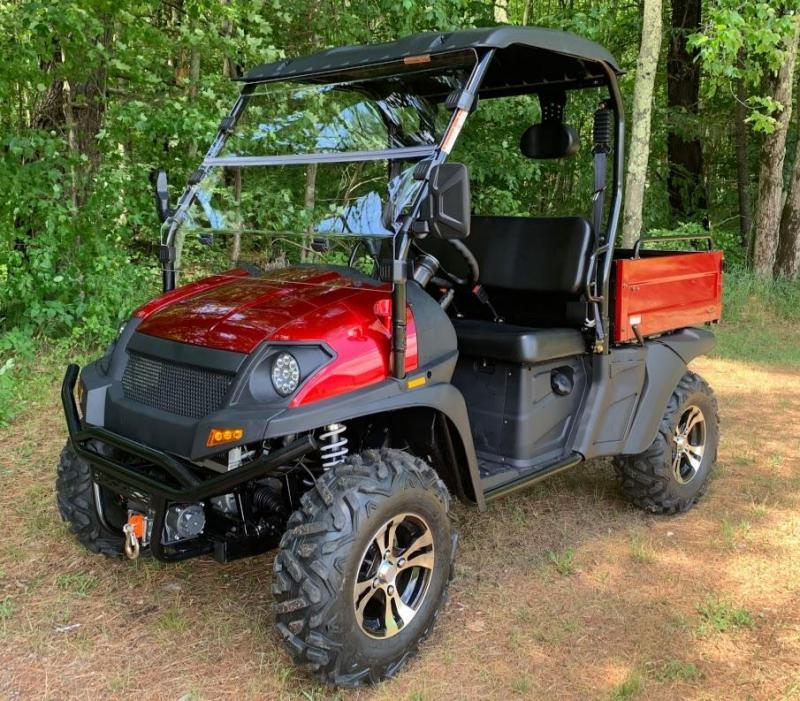 Taurus 450U EFI 4X4 UTV w/EZ-UP DUMP BED 43MPH 26HP Red