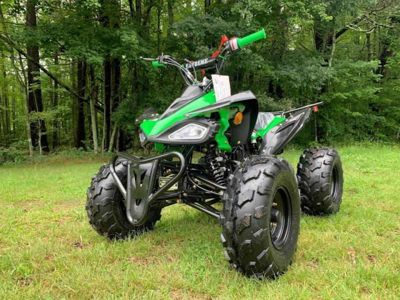 Fall Special! New Vitacci Jet 9 125CC youth ATV 2WD w/reverse-Green-30MPH