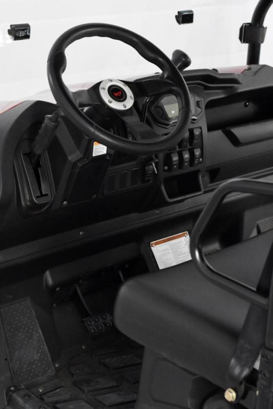Trailmaster Taurus 450G EFI 4X4 4 passenger UTV with fold down seat 43MPH 26HP CAMO