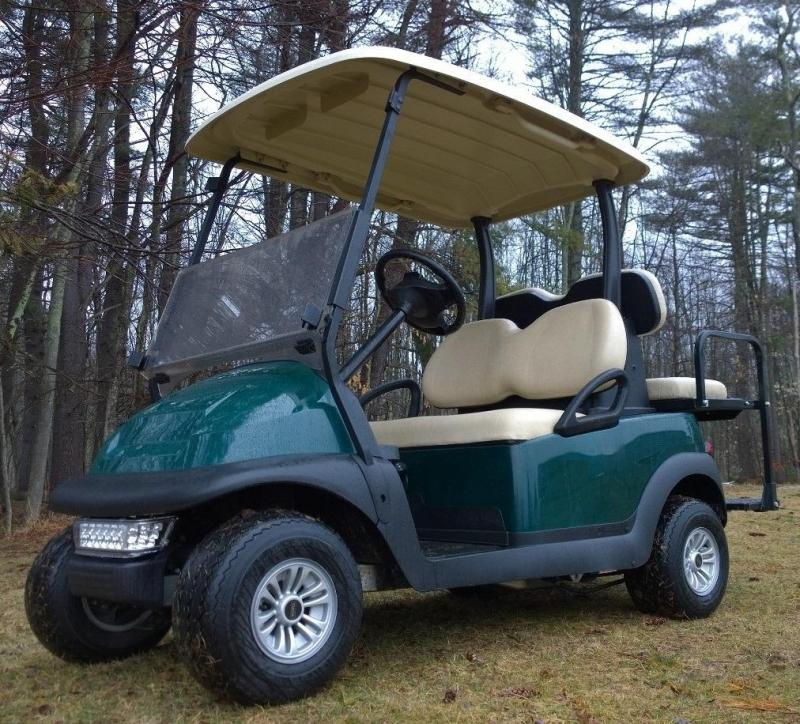 2018 Club Car Precedent 4 passenger electric golf cart-Green & Clean!!