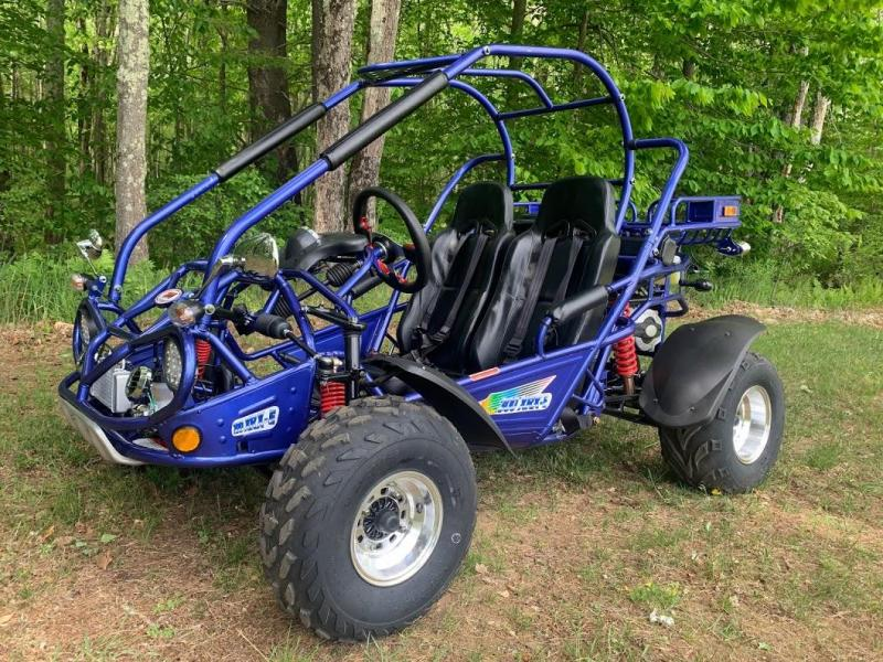 NEW Trailmaster 300XRX-E EFI PREMIUM Go Kart  size ages 12-adult 50MPH Blue