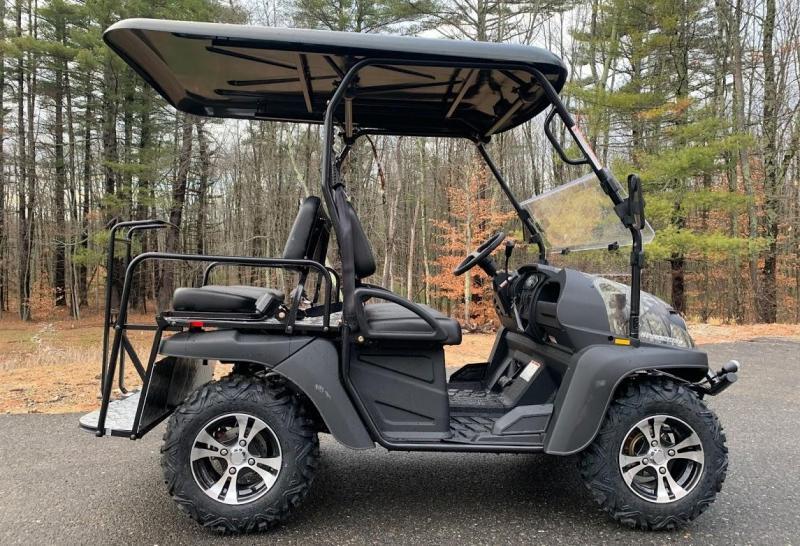 Taurus 200GX 25 MPH Fuel Injected GAS 4 pass golf car style UTV w/Hi-Lo gears-Camo