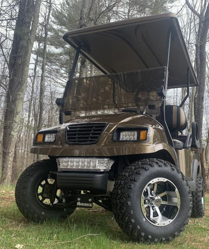 "CUSTOM Club Car Precedent Metallic Bronze Phantom 48V 4PASS 4""LIFT KIT"