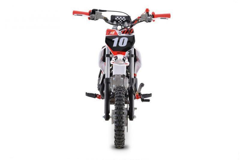 Fall Special! New TrailMaster TM10 Kids 110cc Dirt Bike, Automatic Clutch Electric Start