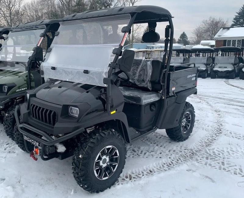 Taurus/Bighorn 450U EFI 4X4 UTV with DUMP BODY 43MPH 26HP BLACK