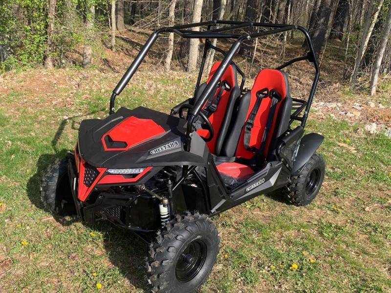 NEW Trailmaster Cheetah 8 Go Kart Youth size ages 7-12 32 MPH RED