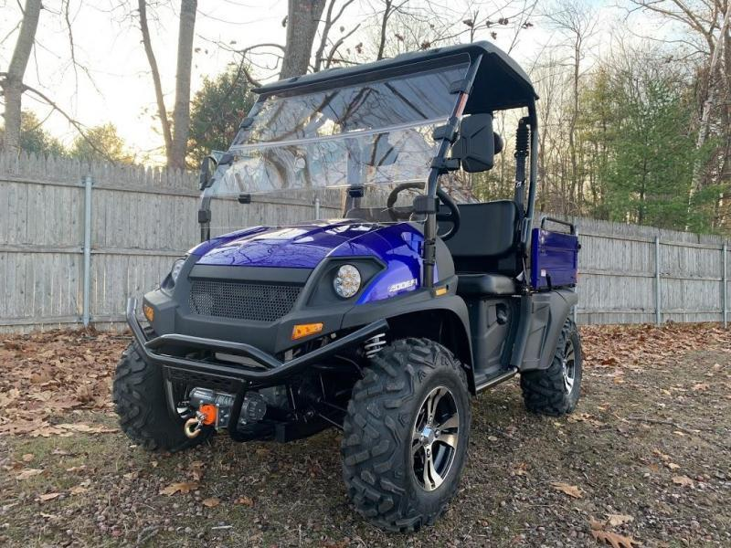 Taurus/Bighorn 450U EFI 4X4 UTV with DUMP BODY 43MPH 26HP Blue