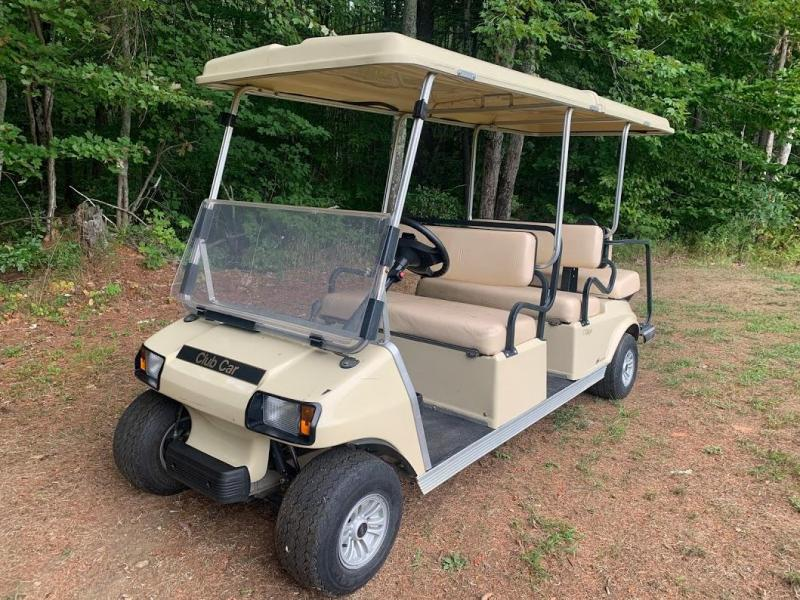 Club Car Villager 6 Person GAS GOLF CART LIMO RUNS AND LOOKS GREAT!!!!