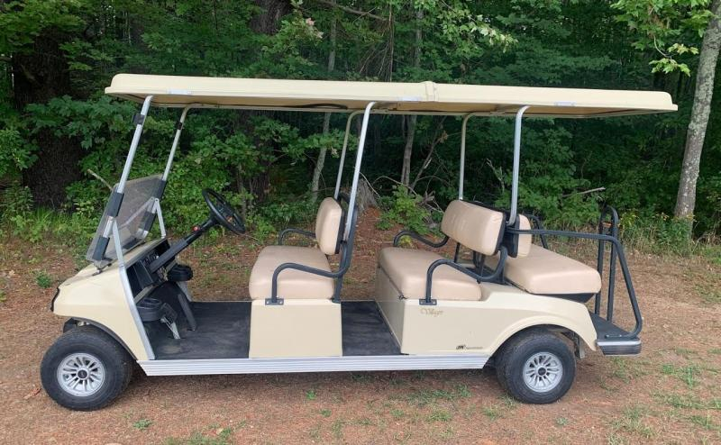 Club Car Villager 6 Person GAS GOLF CART LIMO
