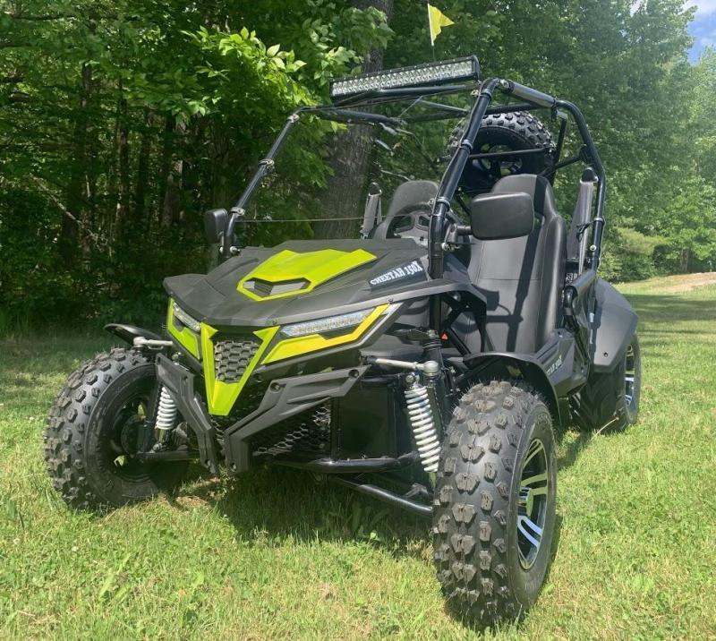 Trailmaster Cheetah 200EX Deluxe Go Kart ADULT 38MPH UTV/GO KART GREEN