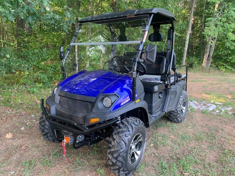 Trailmaster Taurus 450G EFI 4X4 4 person UTV 43 MPH SIDE BY SIDE-BLUE