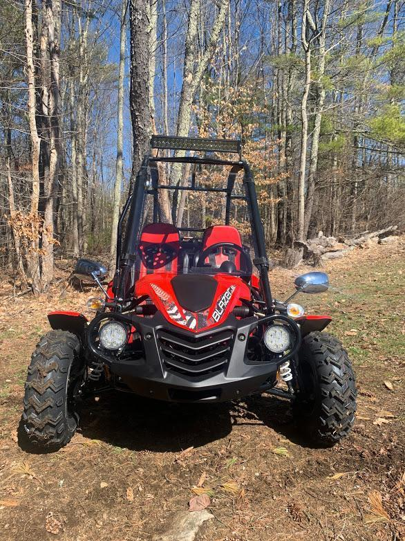NEW Trailmaster Blazer 200-EXGo Kart Teen-Adult 43MPH REVERSE-RED