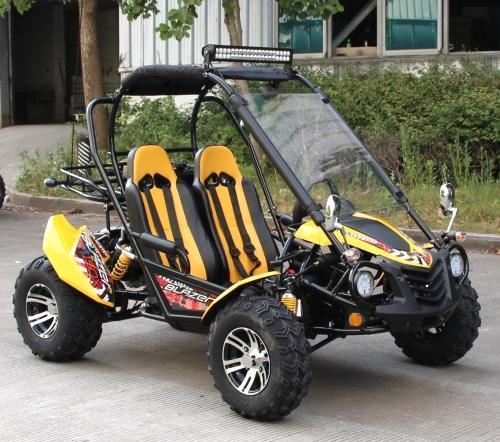 NEW TrailMaster Blazer 200EX EFI Go Kart Teen-Adult 43MPH Green!