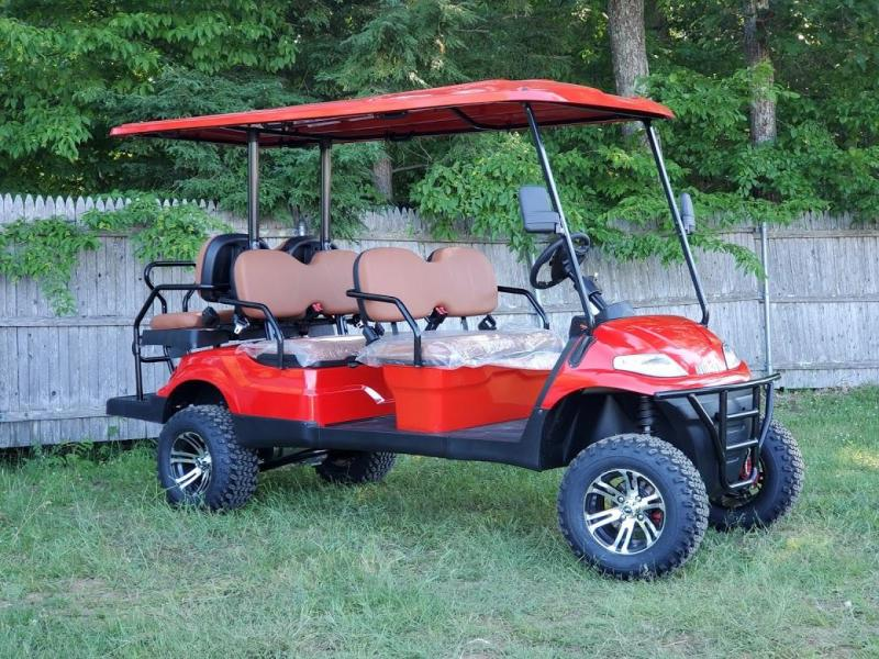 2021 Advanced EV LUXURY 48 Volt 6 PASS LIFTED golf cart limo