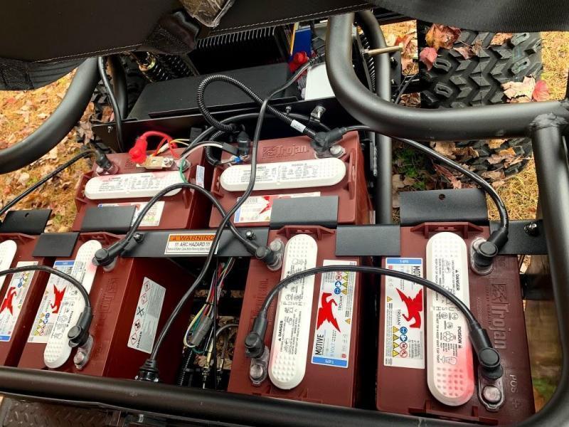 ELECTRIC American LandMaster CRUISER CUSTOM 4 Passenger UTV