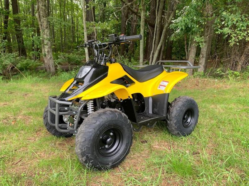 "TrailMaster Coolster MINI 110CC SPORT w/6"" Wheels Kids ATV-Yellow"