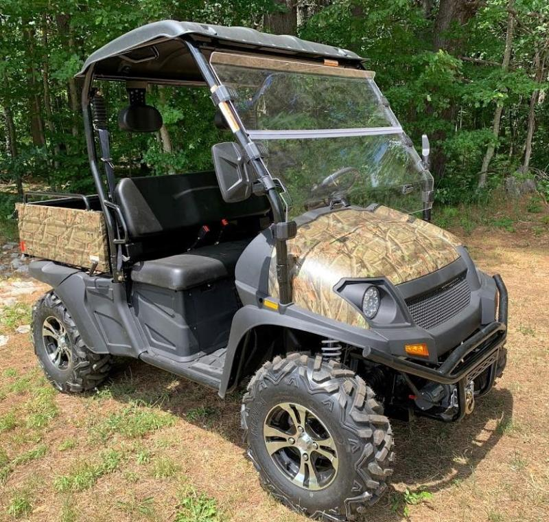 Trailmaster Taurus 450U EFI 4X4 UTV with DUMP BODY 43MPH 26HP CAMO
