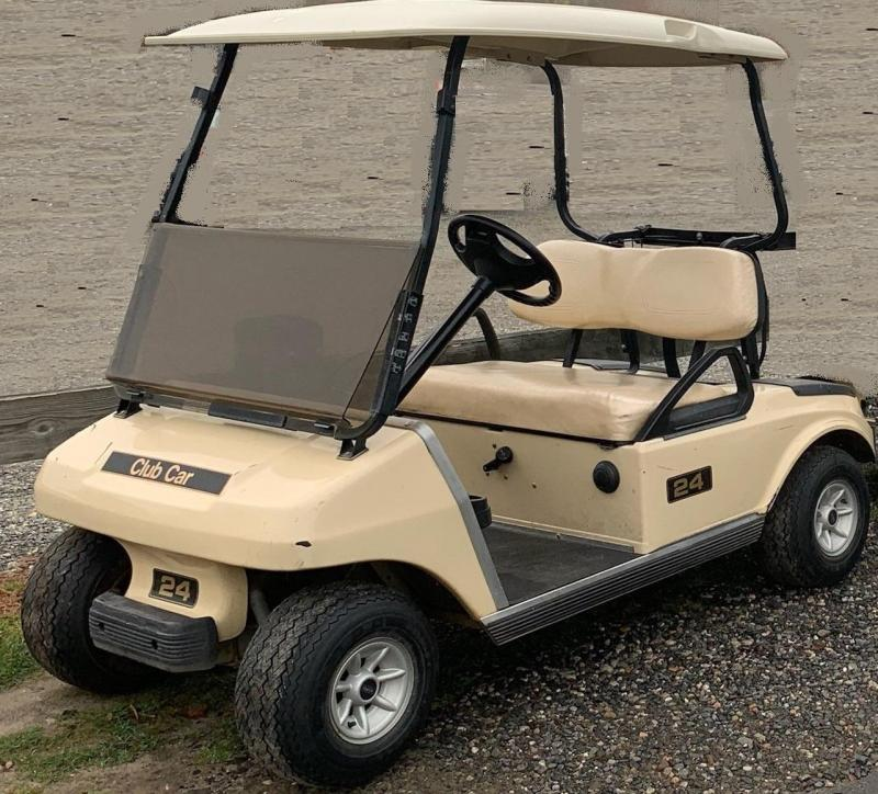 Spring Special! Nice GAS powered Club Car DS 2 passenger golf cart