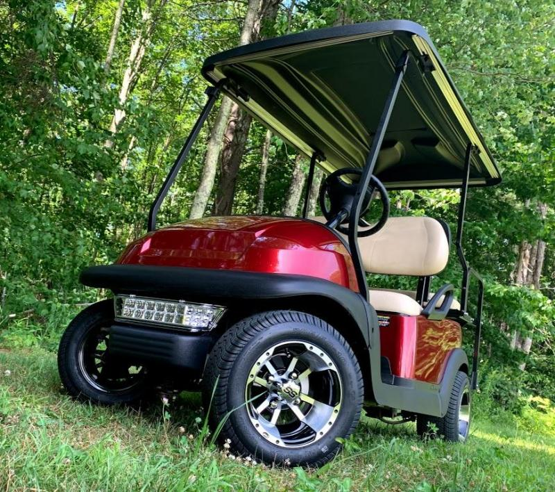 Club Car Precedent Candy Apple Red Metallic 4 pass CUSTOM
