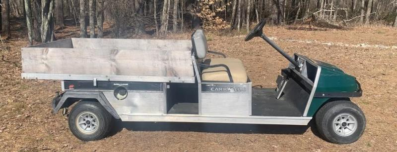 """Fall Sale! 03 Club Car Carryall 6 GAS Utility Vehicle 60"""" bed"""