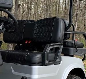25 MPH NEW AEV Advent  LUXURY 48 Volt 4 PERSON electric golf car-SILVER