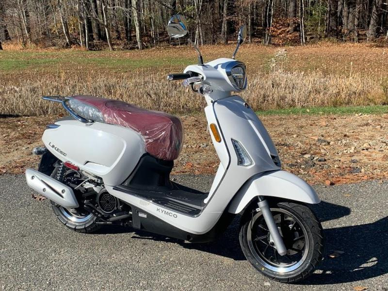 KYMCO Like 150i ABS Noodoe Scooter-Pearl White