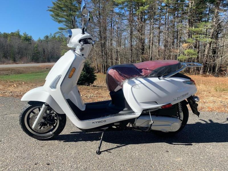 KYMCO Like 150i ABS Noodoe Scooter-Pearl White