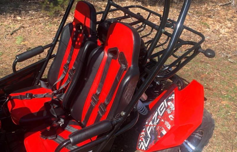 NEW Trailmaster Blazer 200-EXGo Kart Teen-Adult 43MPH REVERSE-BLACK
