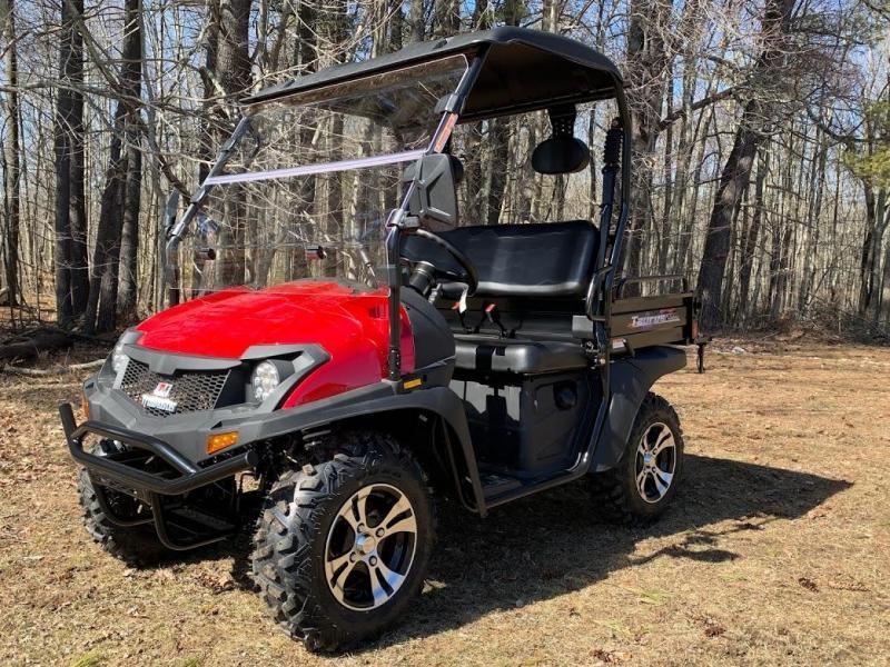 2021 Taurus 200U 2WD Fuel Injected UTV w/dump bed,top windshield 25MPH