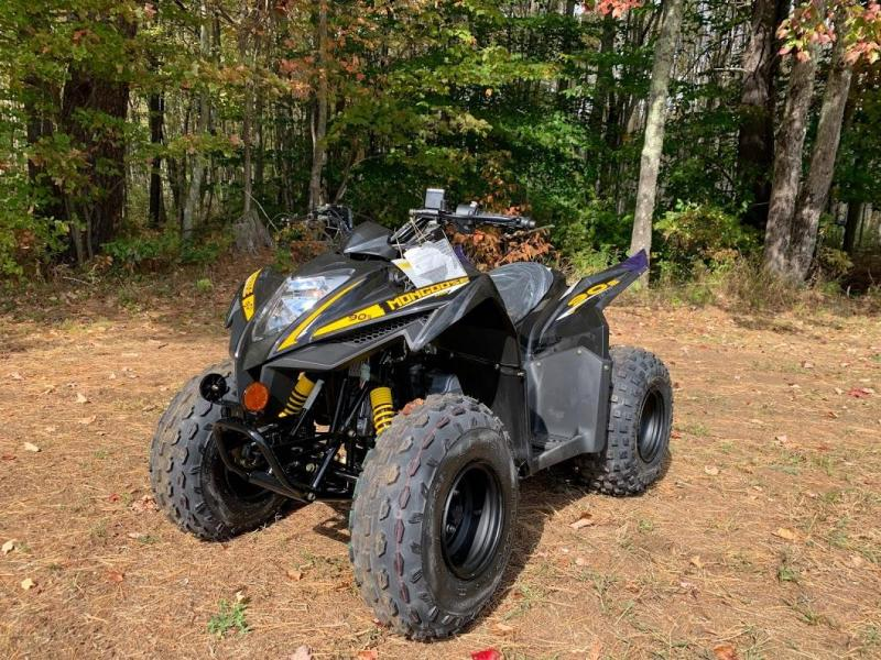 Winter Special! 2021 KYMCO Mongoose 90S YOUTH AGE 10 UP ATV-BLACK