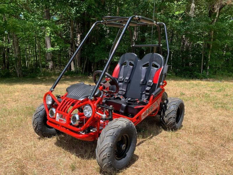 Trailmaster Mini XRX/R+ Go Kart Youth size ages 4-9 RED 12 MPH