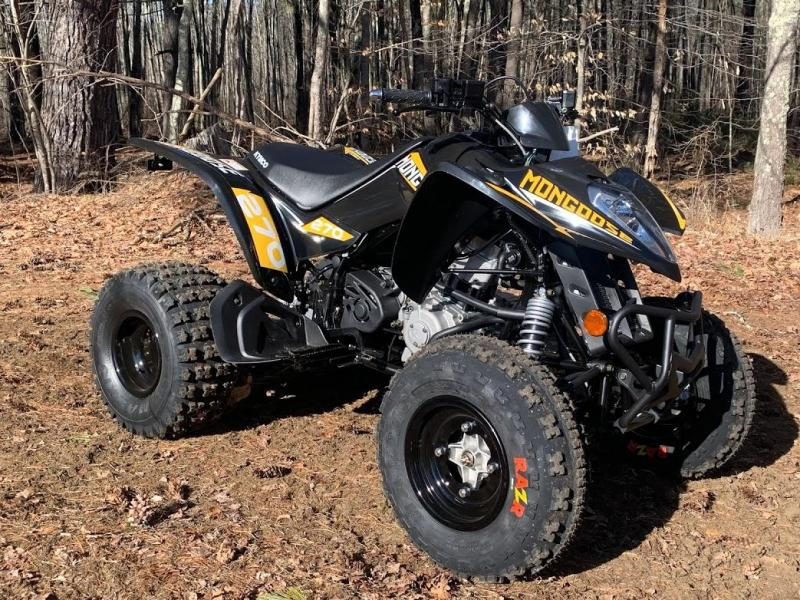 New KYMCO Mongoose 270 Sport Performance ATV w/Reverse ages 14+ Black