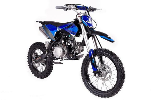 Spring Special! New K3-125 High Performance Mid Size Dirt/Pit Bike BLACK