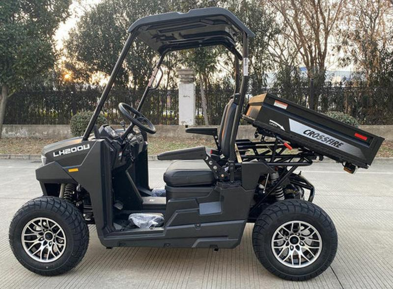 Crossfire 200 25 MPH Fuel Injected GAS UTV with Dump Bed