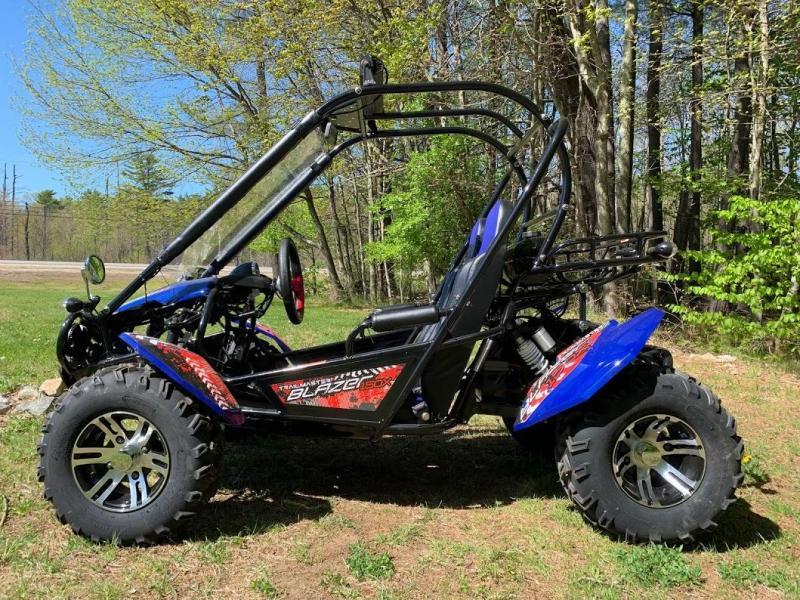 NEW Trailmaster Blazer 200X Go Kart Teen-Adult 43MPH REVERSE-RED