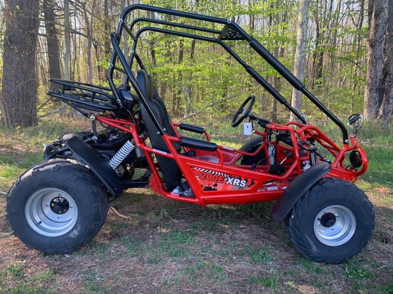 Spring Special! TrailMaster 200E XRS EFI Teen-Adult Go Kart 43 MPH!!!