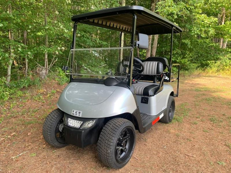 2021 Mid-South EZGO RXV LSV 25MPH Street Legal 4 pass golf cart-Silver