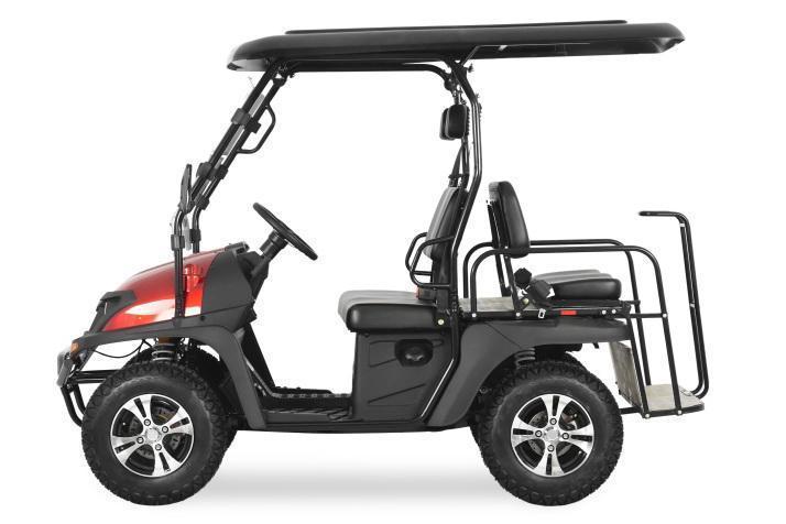 NEW 2020 Trailmaster Taurus 200GX GAS 4 PASSENGER golf car style UTV--CARBON FIBER