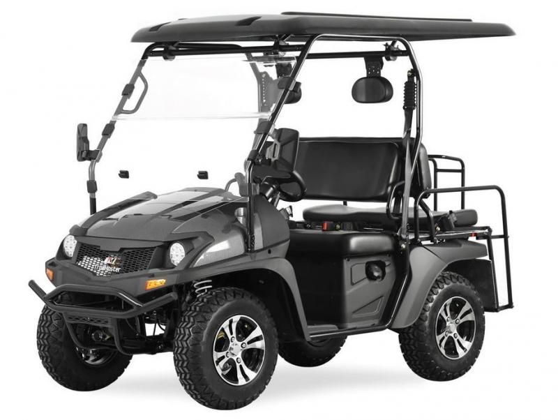 NEW 2020 Trailmaster Taurus 200GX GAS 4 PASSENGER golf car style UTV--CARBON FIBER