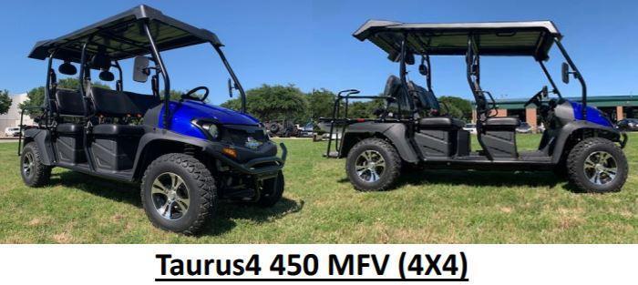 Bighorn/Taurus EFI 400 6 pass SxS UTV 4WD