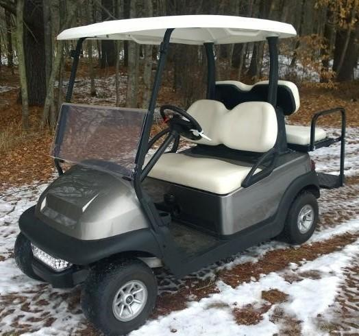 Club Car Precedent 4 pass electric golf cart-PLATINUM -AMAZING!