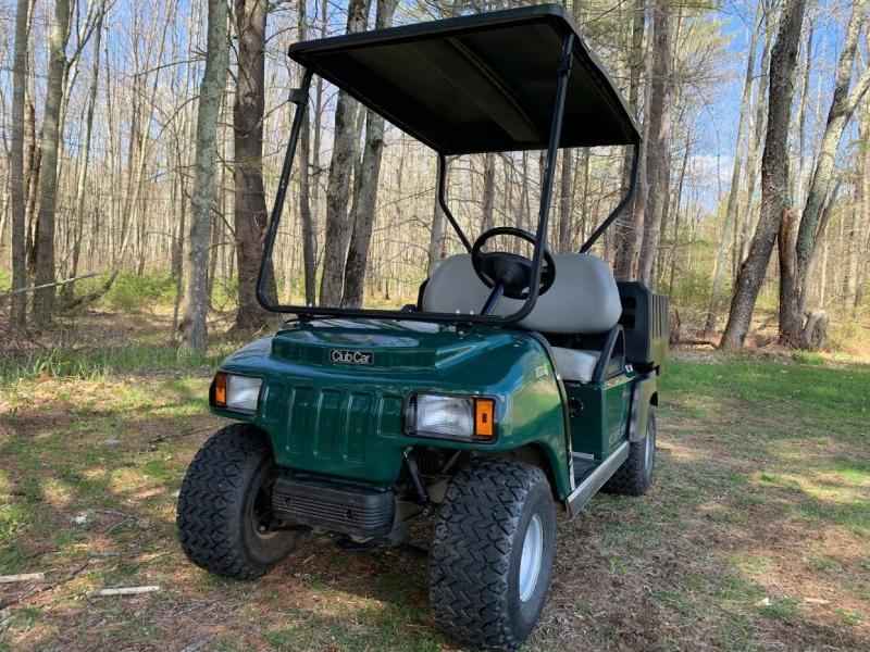 Club Car Carryall 100 48v 2 Pass UTV w/Dump Bed 2019 BATTERY GOLF CART