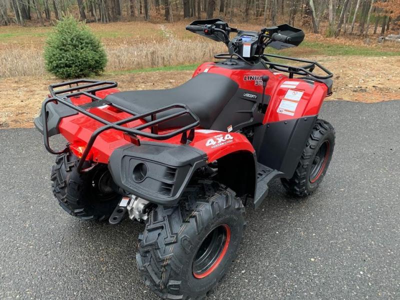 Big Horn 300 4x4 ATV Shaft Drive 22HP Linhai Quality-NICE MACHINE