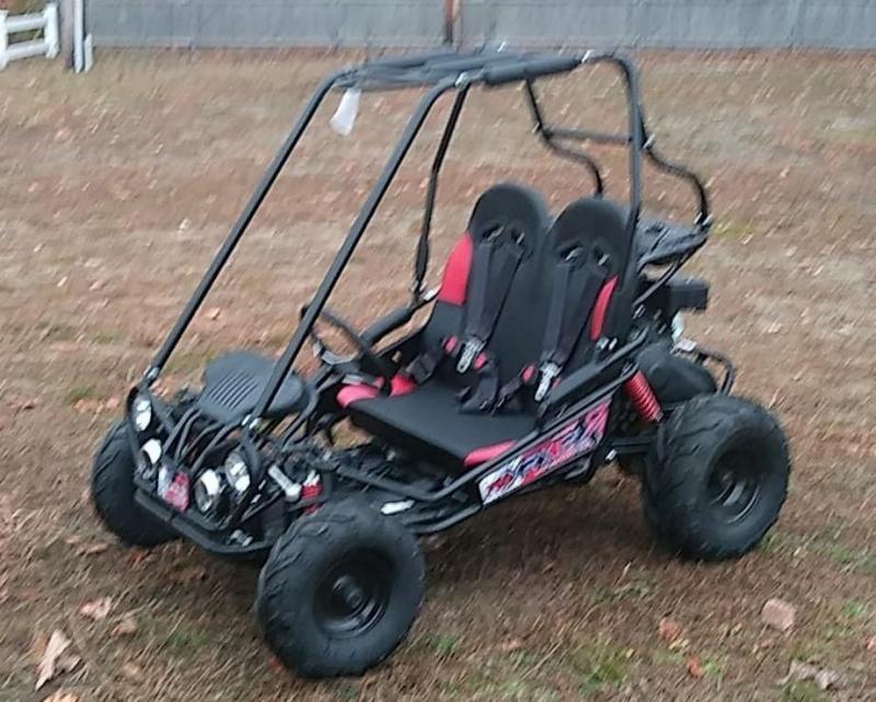TrailMaster Mini XRX/R+ Go Kart Youth size ages 4-9 Black