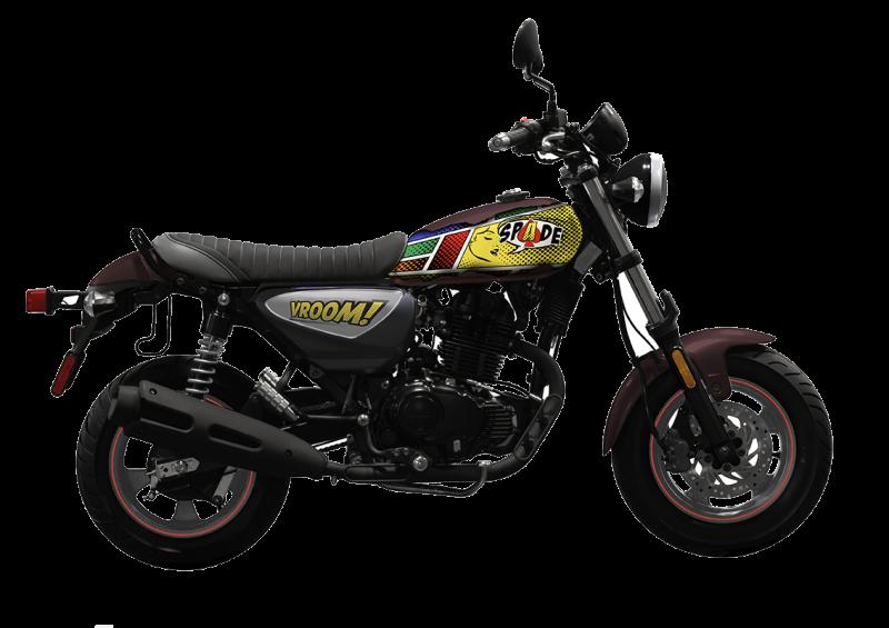 KYMCO SPADE 150i Motorcycle