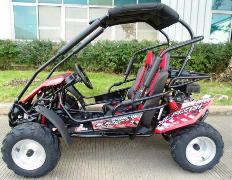 NEW Trailmaster Blazer 200-R 31MPH Go Kart Youth size ages 7-12 RED