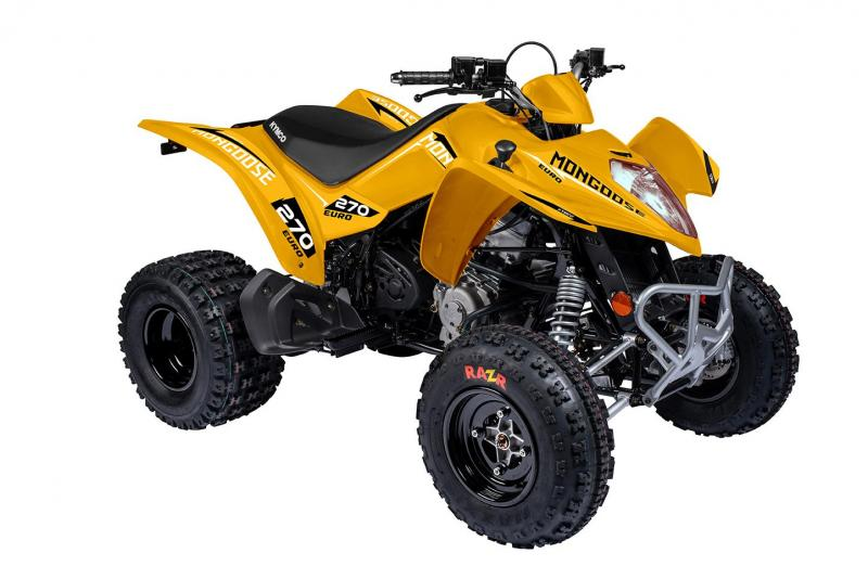 KYMCO Mongoose 270 Euro ATV