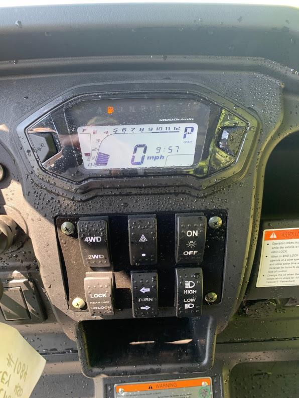 2020 TAURUS 450 MFV 6 PASSENGER 4X4 UTV SIDE BY SIDE 35 MPH WITH EFI--CARBON FIBER