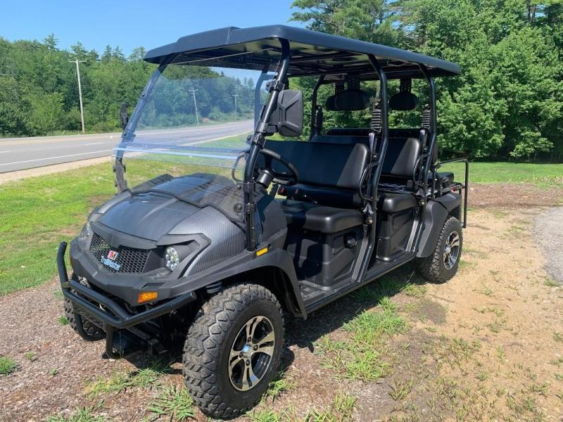 2020 TAURUS 450 MFV 6 PASSENGER 4X4 UTV SIDE BY SIDE 35 MPH WITH EFI--CARBON FIBER